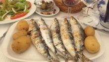 sardinhas lisboa prato o carvoeiro